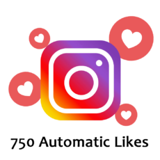 Buy 750 Automatic Instagram Likes