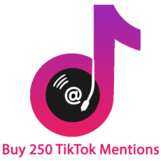 Buy 250 TikTok Mentions