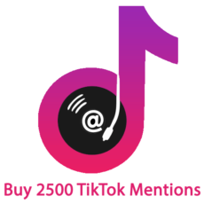 Buy 2500 TikTok Mentions