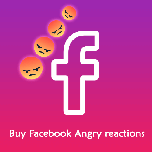 Buy Facebook Angry Reactions