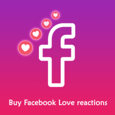 Buy Facebook Love Reactions