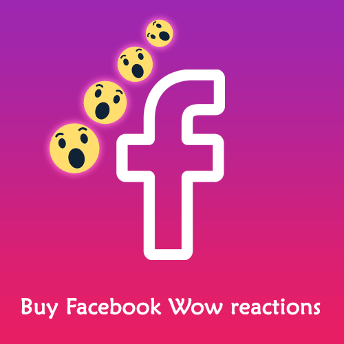 Buy Facebook Wow Reactions